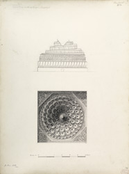Ahmadabad: Spiral dome in Jami mosque